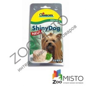 Gimpet Shiny Dog для дорослих собак з куркою