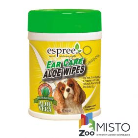 Espree Aloe Ear Care Pet Wipes серветки для чистки вух собак