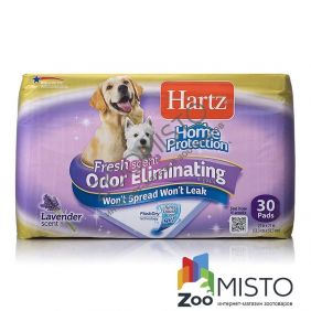 Hartz Home Protection Odor Eliminating Dog Pads пелюшки для цуценят з ароматом лаванди