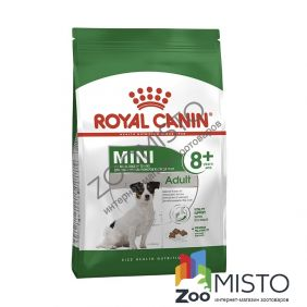 Royal Canin Mini Adult 8+ для собак мелких пород старше 8 лет