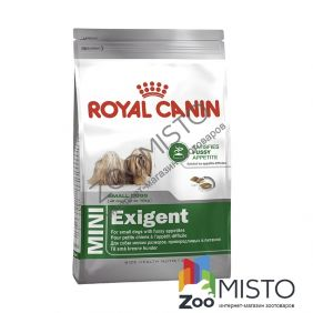 Royal Canin Mini Exigent для собак мелких пород привередливых к еде