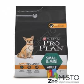 ProPlan Small&MINI Adult для собак мелких пород с курицей