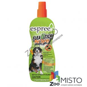 Espree Flea&Tick Pet Spray спрей для собак  блох, клещей, мух, комаров, пчел и других насекомых.