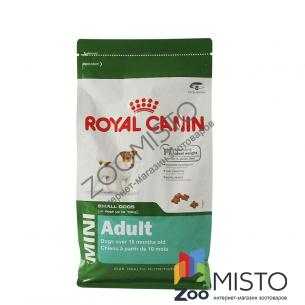 Royal Canin Mini Adult для собак мелких пород от 10 мес. до 8 лет
