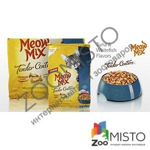 Meow Mix Tuna & Whitefish Flavors для кошек с тунцом и белой океанической рыбой